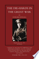 The Die Hards In The Great War Vol 2 Book