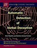 Automatic Detection of Verbal Deception Pdf/ePub eBook