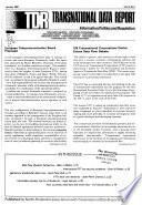 Transnational Data Report
