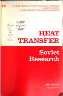Heat Transfer: Soviet Research