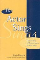 The Actor Sings