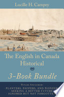 The English In Canada Historical 3-Book Bundle