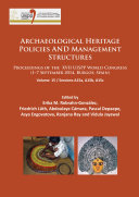Pdf Archaeological Heritage Policies and Management Structures Telecharger