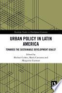 Urban Policy in Latin America