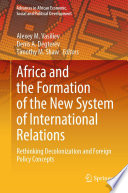 Africa and the Formation of the New System of International Relations