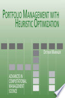 Portfolio Management with Heuristic Optimization Book