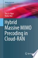 Hybrid Massive MIMO Precoding in Cloud RAN