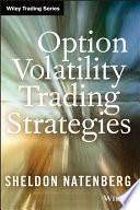 Option Volatility Trading Strategies