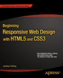 Beginning Responsive Web Design with HTML5 and CSS3 [Pdf/ePub] eBook
