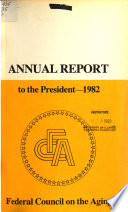 Annual Report Federal Council On The Aging