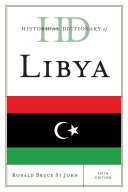 Pdf Historical Dictionary of Libya Telecharger