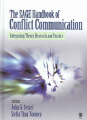 The Sage Handbook Of Conflict Communication Book PDF