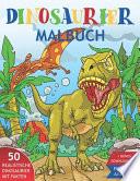 Dinosaurier Malbuch für Kinder 6-12