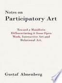 Notes on Participatory Art