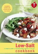 American Heart Association Low salt Cookbook Book
