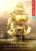 Les Enfants du capitaine Grant (Français Anglais édition illustré)