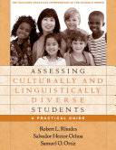 Assessing Culturally and Linguistically Diverse Students