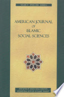 American Journal Of Islamic Social Sciences 21 2