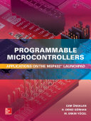 Programmable Microcontrollers  Applications on the MSP432 LaunchPad Book
