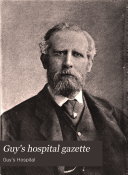 Guy s Hospital Gazette