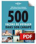 500 façons de voyager dans son canapé Pdf/ePub eBook