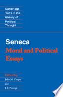 Seneca: Moral and Political Essays