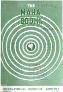 The Maha Bodhi