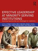Effective Leadership at Minority-Serving Institutions Pdf/ePub eBook