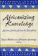 Africanizing Knowledge