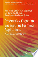 Cybernetics  Cognition and Machine Learning Applications
