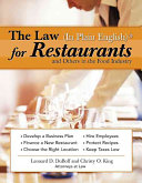 The Law (in Plain English) for Restaurants and Others in the Food Industry