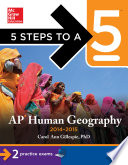 5 Steps to a 5 AP Human Geography  2014 2015 Edition Book PDF