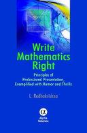 Write Mathematics Right