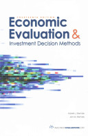 Economic Evaluation and Investment Decisions Methods Textbook; 14th Ed