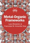 Metal Organic Frameworks Book