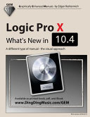 Logic Pro X - What's New In 10. 4