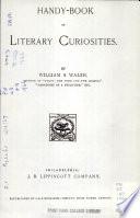 Handy Book of Literary Curiosities