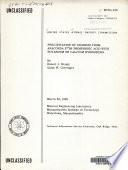 Precipitation of Uranium from Anaconda 27  Be Phosphoric Acid with Potassium Or Calcium Hydroxides Book