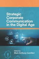 Strategic Corporate Communication in the Digital Age Pdf/ePub eBook