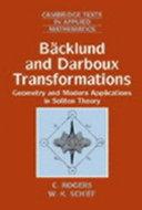 B  cklund and Darboux Transformations