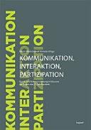 Kommunikation, Interaktion und Partizipation