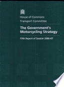 The Government's Motorcycling Strategy