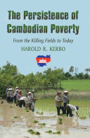 The Persistence of Cambodian Poverty