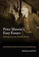 Peter Maurin's Easy Essays