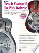 Teach Yourself to Play Dobro Book