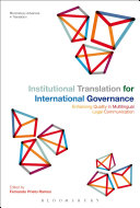 Institutional Translation for International Governance