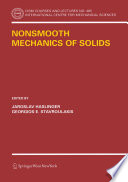 Nonsmooth Mechanics Of Solids Book PDF