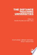 The Distance Teaching Universities