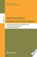 Web Information Systems And Technologies Book PDF