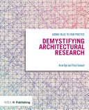 Demystifying Architectural Research Pdf/ePub eBook